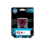 HP 02 Magenta Ink Cartridge, Standard (C8772WN#140)