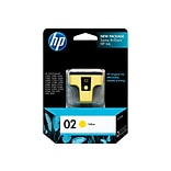 HP 02 Yellow Ink Cartridge, Standard (C8773WN#140)