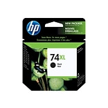 HP 74XL Black Ink Cartridge, High Yield (CB336WN#140)