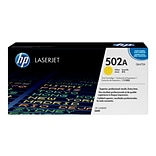 HP 502A Yellow Toner Cartridge, Standard (Q6472A)