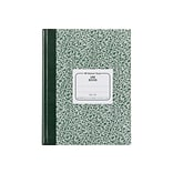 National Brand Lab Computation Notebook, 7.88 x 10.13, Quad Ruled, 96 Sheets, Green (53110)