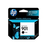 HP 901 Black Ink Cartridge, Standard (CC653AN#140)