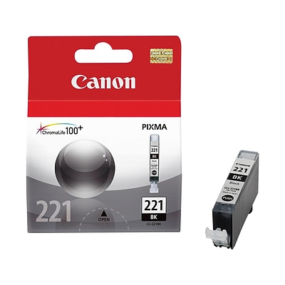 Canon CLI 221 Black Ink Cartridge, Standard (2946B001)