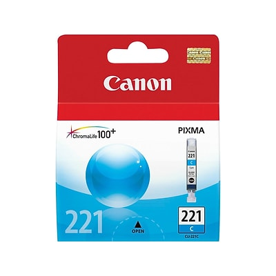 Canon CLI 221 Cyan Ink Cartridge, Standard (2947B001)