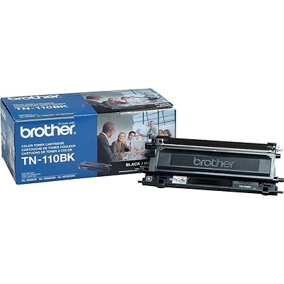 Brother TN 110BK Black Toner Cartridge, Standard