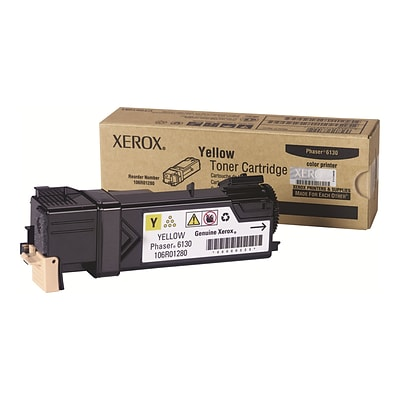 Xerox 106R01280 Yellow Toner Cartridge, Standard