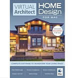 Avanquest Virtual Architect Home Design Software for Mac for Mac, 1 User, Download (RU4A3QCFM7C8XJB)