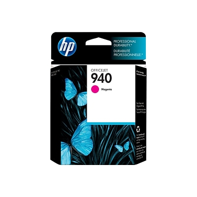 HP 940 Magenta Ink Cartridge, Standard (C4904AN#140)