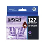 Epson 127 Magenta Ink Cartridge, Extra High Capacity (T127320-S)
