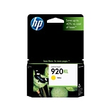 HP 920XL Yellow Ink Cartridge, High Yield (CD974AN#140)