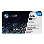 HP 647A Black Toner Cartridge, Standard (CE260A)