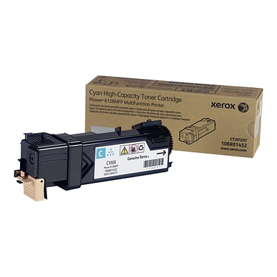 Xerox 106R01452 Cyan Toner Cartridge, High Yield