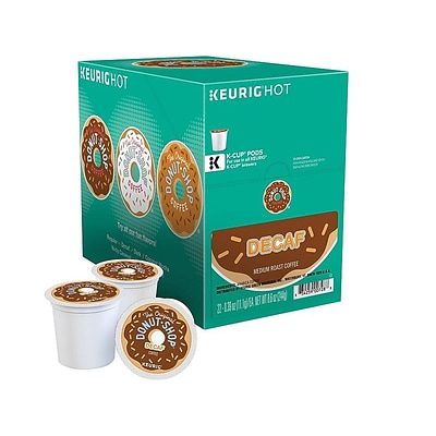 Donut Shop® Decaf Coffee, Keurig® K-Cup® Pods, Medium Roast, 22/Box (DIE60224101)