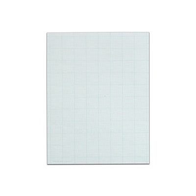 TOPS Cross-Section Pad, 8.5 x 11, Quad Rule, White, 50 Sheets/Pad (TOP 35101)