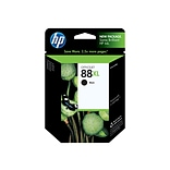 HP 88XL Black Ink Cartridge, High Yield (C9396AN#140)