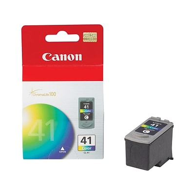 Canon CL 41 Color Combination Ink Cartridge, Standard (0617B002)