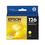 Epson 126 Yellow Ink Cartridge, High Yield (T126420)