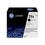 HP 39A Black Toner Cartridge, Standard (Q1339A)