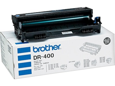 Black,1 Drum USA Advantage Compatible Drum Unit Replacement for Brother DR400 DR-400 for Use with MFC-9700
