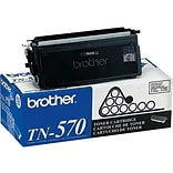 Brother TN 570 Black Toner Cartridge, High Yield