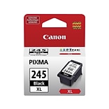 Canon PG-245XL Black Ink Cartridge, High Yield (8278B001)