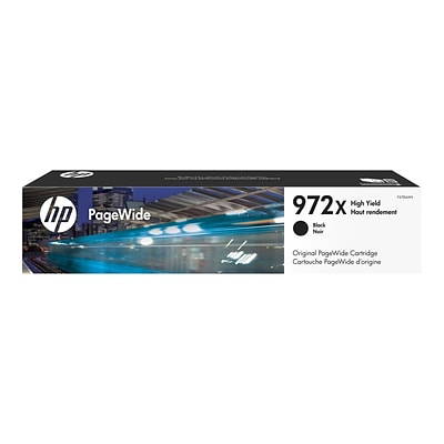 HP 972X Black Ink Cartridge, High Yield (F6T84AN)