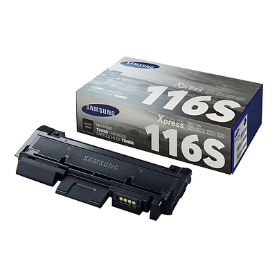 Samsung 116 Black Toner Cartridge, Standard (SU844A)