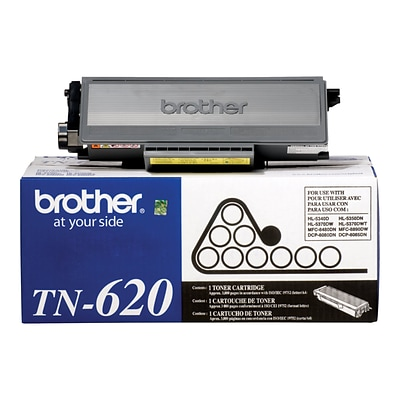 Brother TN 620 Black Toner Cartridge, Standard