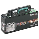Lexmark 24060SW Black Toner Cartridge, Standard