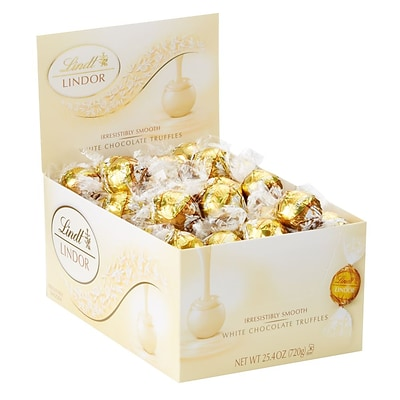 Lindor White Chocolate Truffles 60ct (3514)