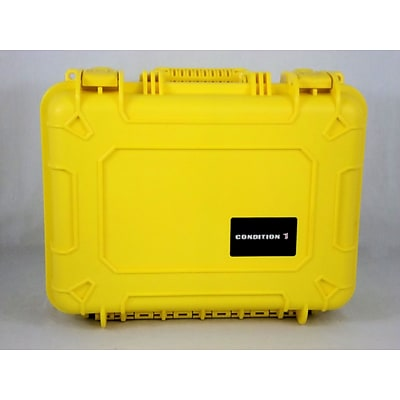 Condition 1 Airtight/Watertight Yellow Hard Plastic Protective Case (101179)
