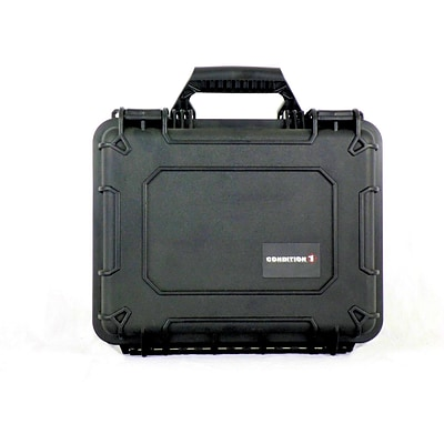 Condition 1 Airtight/Watertight Black Hard Plastic Protective Case (101075)