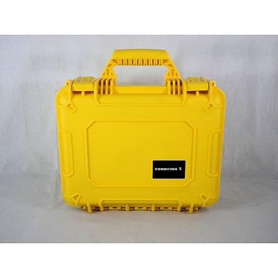 Condition 1 Airtight/Watertight Yellow Hard Plastic Protective Case (101075)