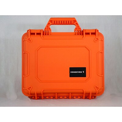 Condition 1 Airtight/Watertight Orange Hard Plastic Protective Case (101075)