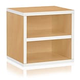 Way Basics Eco Stackable Connect Storage Cube with Shelf Limited Edition (C-SCUBE-SP)
