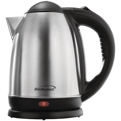 Brentwood Kt-1790 1.7-liter Stainless Steel Electric Cordless Tea Kettle