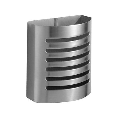 InterDesign Forma Magnetic Steel Pencil Holder, Silver (85170)