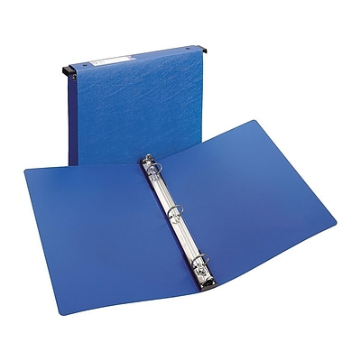 Avery Poly 1 3-Ring Hanging Binder, Blue (14800)