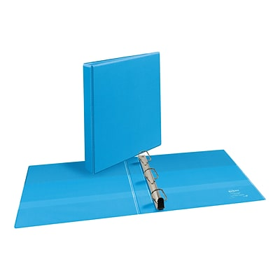 Avery Heavy Duty 1 3-Ring View Binder, Light Blue (05301)