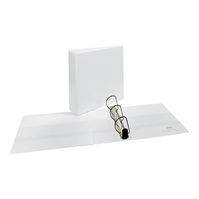 Avery Heavy Duty 3 3-Ring View Binder, White (05604)