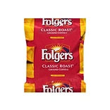 Folgers Classic Roast Ground Coffee, Medium Roast, 40/Carton (PRO22142)