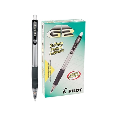 Pilot G-2 Mechanical Pencils, No. 2 Medium Lead, 12/Pack (51015)