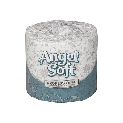 Angel Soft Professional Series 2-Ply Standard Toilet Paper, White, 450 Sheets/Roll, 40 Rolls/Carton (16840)
