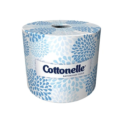 Cottonelle 2-Ply Standard Toilet Paper, White, 451 Sheets/Roll, 60 Rolls/Carton (17713)