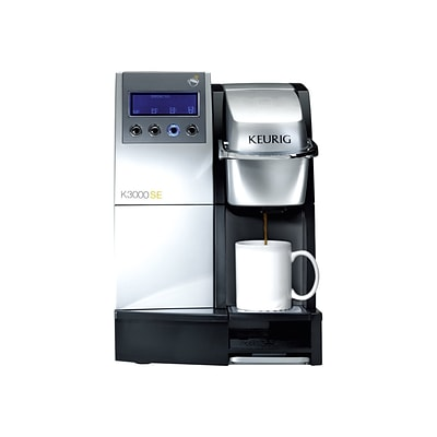 Keurig® K3000SE Commercial Brewing System Coffee Maker, Black/Silver (23000)