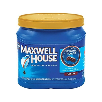 Maxwell House Original Roast Ground Coffee, Medium Roast, 30.6 oz. (04648)