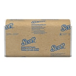 Scott Essential Single Fold Paper Towels, 1-ply, 250 Sheets/Pack, 16 Packs/Carton (01700)