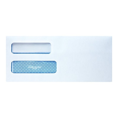 Quality Park Redi-Seal Security Tinted #10 Business Envelopes, 4 1/8 x 9 1/2, White, 500/Box (QUA24559)