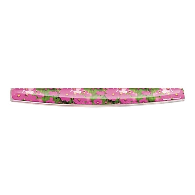 Fellowes Photo Wrist Rest, Pink Flowers/Multicolor (9179101)