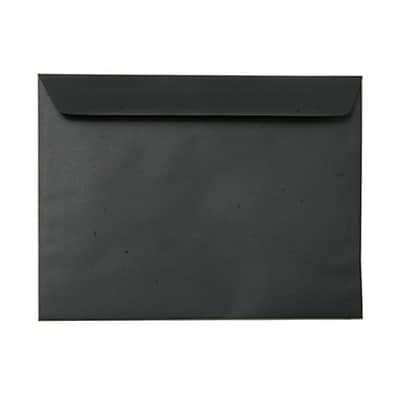 JAM Paper® 9 x 12 Booklet Envelopes, Smooth Black, 50/pack